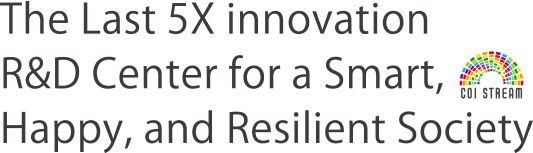 The Last 5X innovation R&D Center for a Smart,Happy, and Resilient Society