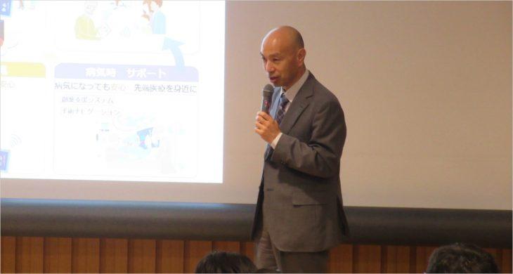 小寺研究リーダーの発表