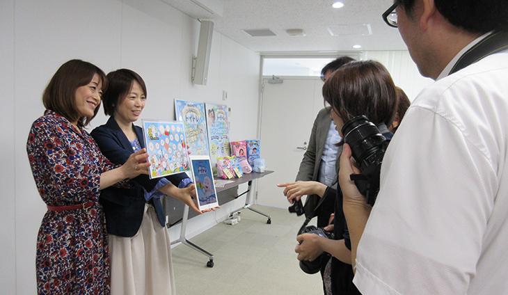 明和教授(京都大学)とユニ・チャーム株式会社担当者